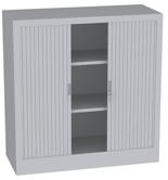 00150700 Szafa żaluzjowa, 2 półki (wymiary: 1250x120x500 mm)