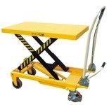 00546098 Wózek paletowy stołowy (udźwig: 500 kg, min./max. wysokość podestu: 285/880 mm)