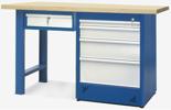 00853681 Stół warsztatowy, 5 szuflad (wymiary: 1500x900x740 mm)