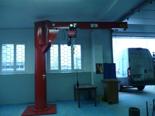 03049651 Żuraw przyścienny obrotowy bez wciągarki do mocowania do ściany (udźwig: 800 kg, długość ramienia: 3500 mm)