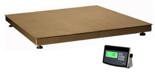 04048956 Waga platformowa ze stali szlachetnej z legalizacją (nośność: 1500 kg, podziałka: 500 g, wymiary: 1000x1000 mm)