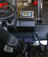 04049238 Waga hydrauliczna elektroniczna do wózka widłowego (udźwig: 20000 kg, podziałka: 50 kg)