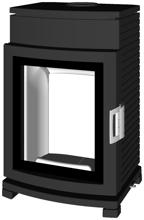 07135636 Piec wolnostojący żeliwny Austroflamm 6kW Chester Compact