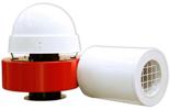 08549380 Wentylator promieniowy dachowy z wylotem poziomym WPA-5-D-1-N 230V (obroty synchroniczne: 3000 1/min, moc: 0,55 kW, wydajność wentylatora: 1900 m3/h)