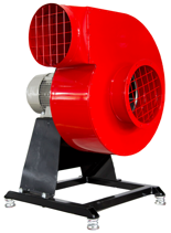 08549410 Wentylator promieniowy stacjonarny z ramą amortyzującą i z ramą amortyzującą WPA-7-E-1-N-S 230V (obroty synchroniczne: 3000 1/min, moc: 1,1 kW, wydajność wentylatora: 3100 m3/h)