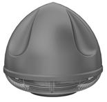 08549447 Wentylator przeciwwybuchowy dachowy SPARK-S-400/1500/Ex (obroty synchroniczne: 1500 1/min, moc: 3 kW, wydajność wentylatora: 8800 m3/h)