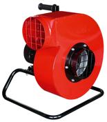 08549488 Wentylator przeciwwybuchowy promieniowy przenośny WPAN-10-P ExG (obroty synchroniczne: 3000 1/min, moc: 4 kW, wydajność wentylatora: 7400 m3/h)