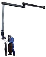 08549559 Odciąg stanowiskowy, zestaw wyciągowy ROL-TP-2,5-2,5 (średnica: 160 mm, długość: 4690 mm)