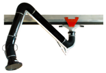 08549570 Odciąg stanowiskowy, zestaw wyciągowy: kanał odciągowy + wózek + ramię ssące ERGO-KOS (średnica ramienia odciągowego: 160 mm, długość ramienia odciągowego: 2,3 m, długość segmentu kanału: 2 m)