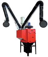 08549623 Urządzenie filtrowentylacyjne do oczyszczania powietrza z suchych pyłów bez ramion odciągowych STRONG-2000-N (pojemność pojemnika na odpady: 72 dm3, moc: 3 kW, wydajność: 3150 m3/h)