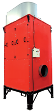 08549641 Urządzenie filtrowentylacyjne, separator mgły olejowej z filtrem kieszeniowym MISTOL DUST-5000 (moc: 7,5 kW, wydajność: 8700 m3/h)