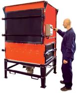 08549644 Urządzenie filtrowentylacyjne do oczyszczania powietrza z zanieczyszczeń pyłowo-gazowych bez ramion odciągowych HARD-5000-S (moc: 6,5 kW, wydajność: 6500 m3/h)