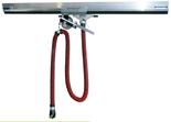 08549706 Odsysacz spalin, odsysacz balansowy przejezdny z przepustnicą, wężem elastycznym - bez ssawki OBP/P-AL-125-6 (długość węża: 6m, średnica: 125mm)
