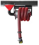 08549716 Odsysacz spalin, przejezdny bęben odsysacza z napędem sprężynowym - bez zestawu wężowego, stopera i ssawki OP-ALAN-U/C-8 (bez przepustnicy, dla długości węża: 8m)