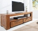 11260723 Stylowy stolik TV Makassar (kolor: naturalne drewno)