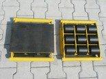 12235598 Wózek stały 9 rolkowy, rolki: 9x stalowe (nośność: 18 T)