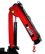 15246864 Żuraw jednoramienny Befard BF 1700.12 (udźwig: 520-1700 kg, zasięg: 1,2- 4,1m, ilość wysuwów hydraulicznych/ręcznych: 1/2)