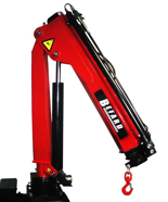 15246865 Żuraw jednoramienny Befard BF 1700A (udźwig: 690-1700 kg, zasięg: 1,2- 3,1m, ilość wysuwów hydraulicznych/ręcznych: 2/brak)