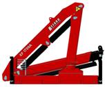 15246908 Żuraw dwuramienny Befard XF 1700A.11 (udźwig: 420-1920 kg, zasięg: 2,0-7,7 m, ilość wysuwów hydraulicznych/ręcznych: 2/1)