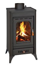23055317 Piec wolnostojący 11kW na drewno, węgiel (średnica spalin: 150 mm)
