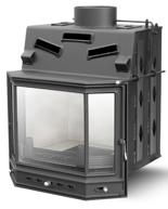 2959615 Wkład kominkowy Lechma 14kW PP-190 Pryzma z szybrem (szyba pryzmatyczna dzielona)