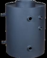 30041170 Turbodym wodny nagrzewnica pionowa z wężownicą do 9kW (pojemność wody: 26 L)