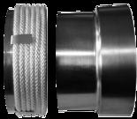 30042637 Przejście rura stalowa - komin ceramiczny fi 160