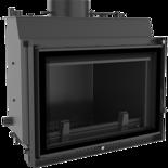 30060556 Wkład kominkowy 12kW Wiktor PW Deco z płaszczem wodnym, wężownicą (szyba prosta)