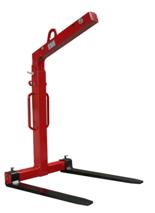 33915348 Zawiesie widłowe do podnoszenia palet KMI 1,0 (udźwig: 1 T, długość wideł: 1000 mm)