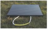 33922675 Podkład gumowy kwadratowy pod stopy stabilizatorów dźwigów GP 50-60 (wytrzymałość: 50 T, wymiary: 1000x1000x60 mm)