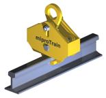 33938755 Uchwyt do przenoszenia szyn miproTrain HPK 5 (udźwig: 5000 kg)
