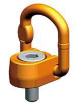 33948556 Śruba z uchem obrotowo-uchylnym PLAW 10t M42 (udźwig: 10 T, gwint: M42)
