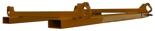 33948678 Trawersa do pojemników BIG-BAG do wózka widłowego miproFork TWL 1000 (udźwig: 1500 kg, wymiary pojemnika: 1000x1000 mm)