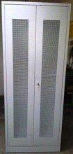 77157033 Szafa odzieżowa, 2 drzwi perforowane (wymiary: 2000x1000x500 mm)