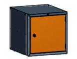 99551584 Szafka typ R, 1 drzwi (wymiary: 625x600x690 mm)