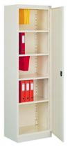 99551683 Szafa biurowa 0,8mm, 1 drzwi, 4 półki (wymiary: 1990x600x435 mm)