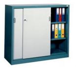 99551709 Szafa biurowa 1,0mm, 2 drzwi, 2 półki (wymiary: 1040x1400x435 mm)