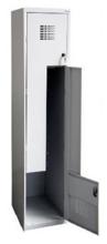 99552000 Szafka ubraniowa 0,8mm, 2 drzwi w kształcie L (wymiary: 1800x400x500 mm)