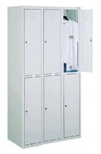 99552265 Szafka ze schowkami 0,8-1,0mm, 6 drzwi (wymiary: 1800x900x490 mm)