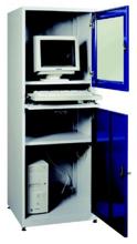 99552540 Szafka pod komputer przemysłowy, drzwi otwierane jednocześnie, bez wentylatora i listwy zasilającej (wymiary: 1750x640x630 mm)