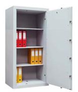 99552673 Sejf gabinetowy dwupłaszczowy I klasy, 3 półki, 1 drzwi (wymiary: 1800x700x520 mm)