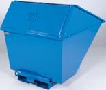99724689 Pojemnik wychylny z pokrywą GermanTech TL 2700 (pojemność: 2050 L)