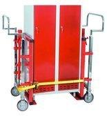 99724839 Wózek hydrauliczny do transportu maszyn, mebli GermanTech (udźwig: 1800 kg)
