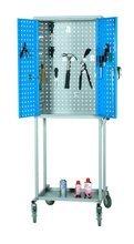 99724947 Wózek. szafka stalowa narzędziowa GermanTech Workshop trolley (wymiary: 1800x600x400 mm)