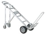 99746701 Wózek taczkowy do transportu, aluminiowy GermanTech A 107 (udźwig: 250/350 kg)