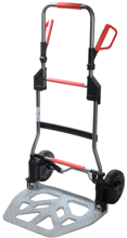 99746704 Wózek taczkowy do transportu, składany aluminiowy GermanTech RuXXac-cart (udźwig: 250 kg)