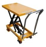 DOSTAWA GRATIS! 00546096 Wózek paletowy stołowy (udźwig: 300 kg, wymiary platformy: 850x500 mm, wysokość podnoszenia min/max: 285-880 mm)
