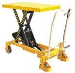 DOSTAWA GRATIS! 00565763 Wózek paletowy stołowy (udźwig: 1000 kg, wymiary platformy: 1016x510x55 mm, wysokość podnoszenia min/max: 380-1360 mm)