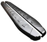 DOSTAWA GRATIS! 01655903 Stopnie boczne, czarne - Hyundai ix35 (długość: 171 cm)