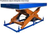 DOSTAWA GRATIS! 03060639 Dźwignik nożycowy przeładunkowy (udźwig: 2000 kg, wymiary platformy: 2500x2000mm, wysokość podnoszenia: 1700mm)